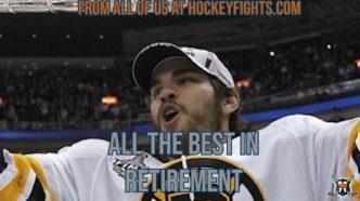 Congrats on Retirement, Adam McQuaid