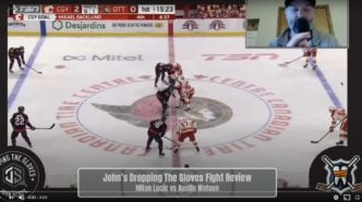Dropping The Gloves With John Scott – Review Milan Lucic vs Austin Watson