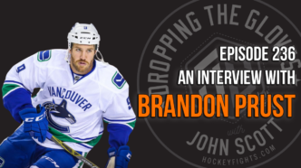 Dropping The Gloves Episode 236: Interview with Brandon Prust