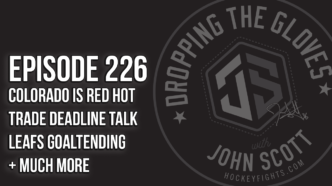 Dropping The Gloves Episode 226: Is the Canucks Season Over? + Trade Rumors