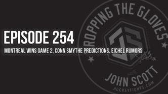 Dropping The Gloves Episode 254: Montreal Wins Game 2, Conn Smythe Predictions, Eichel Rumors