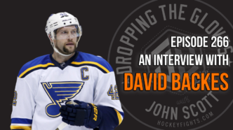 Dropping The Gloves Episode 266: Interview with David Backes