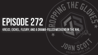 Dropping The Gloves Episode 272: Krejci, Eichel, Fleury, and a Drama-Filled Weekend in the NHL