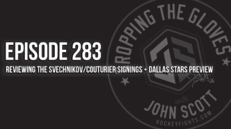 Dropping The Gloves Episode 283: Reviewing the Svechnikov/Couturier Signings + Dallas Stars Preview