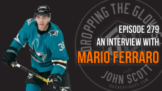 Dropping The Gloves Episode 279: Interview with Mario Ferraro, San Jose Sharks