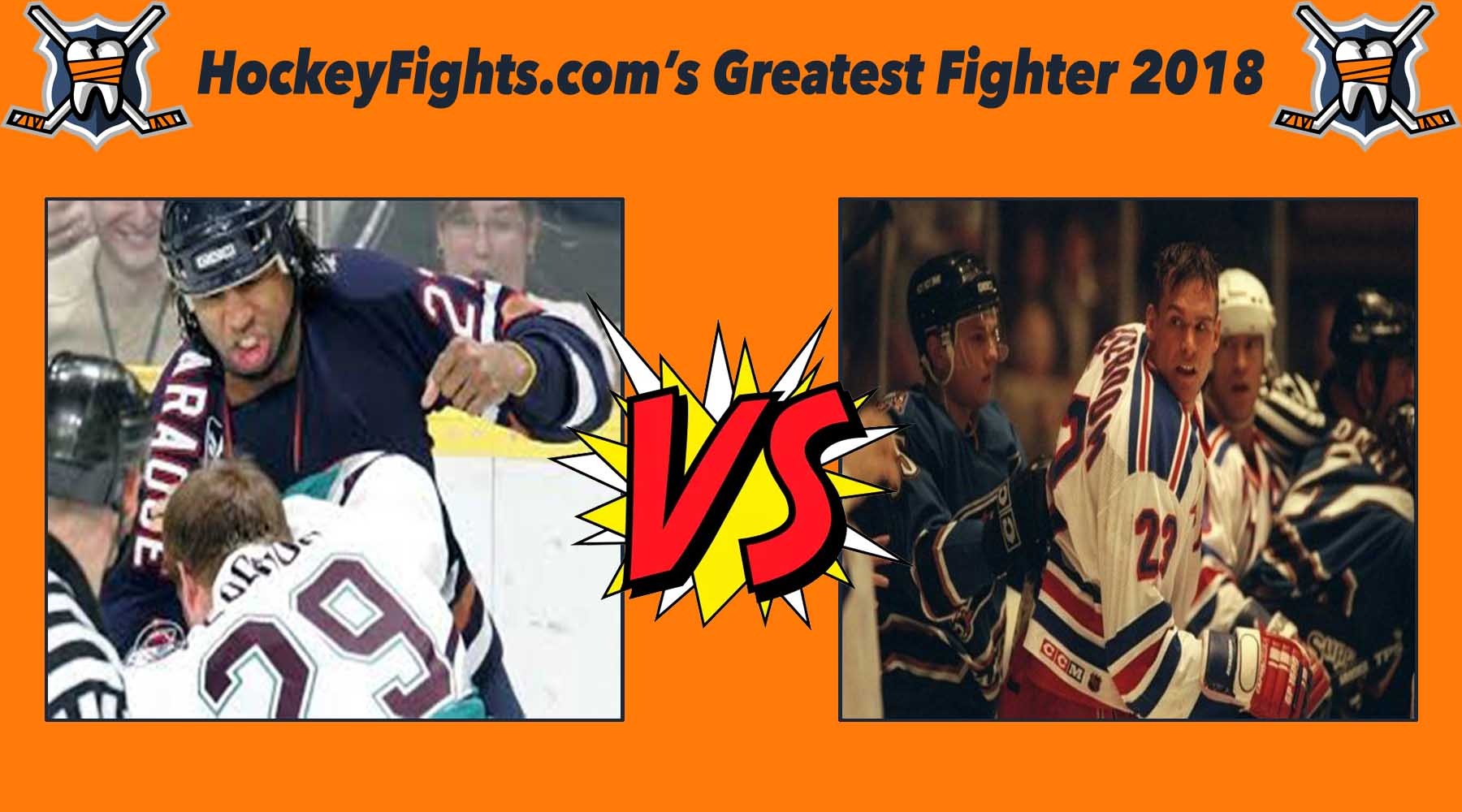 HockeyFights.com Fantasy Fighting Championship Bracket: Round One – Day One