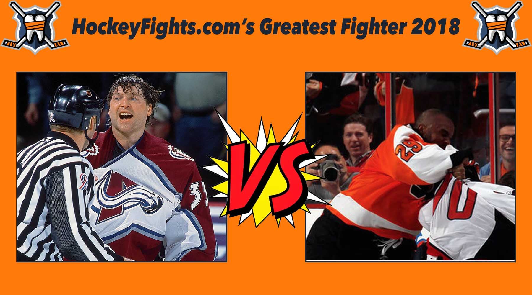 HockeyFights.com Fantasy Fighting Championship Bracket: Round One – Day Five