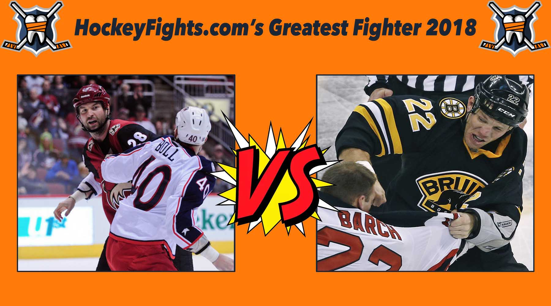 HockeyFights.com Fantasy Fighting Championship Bracket: Round One – Day Three