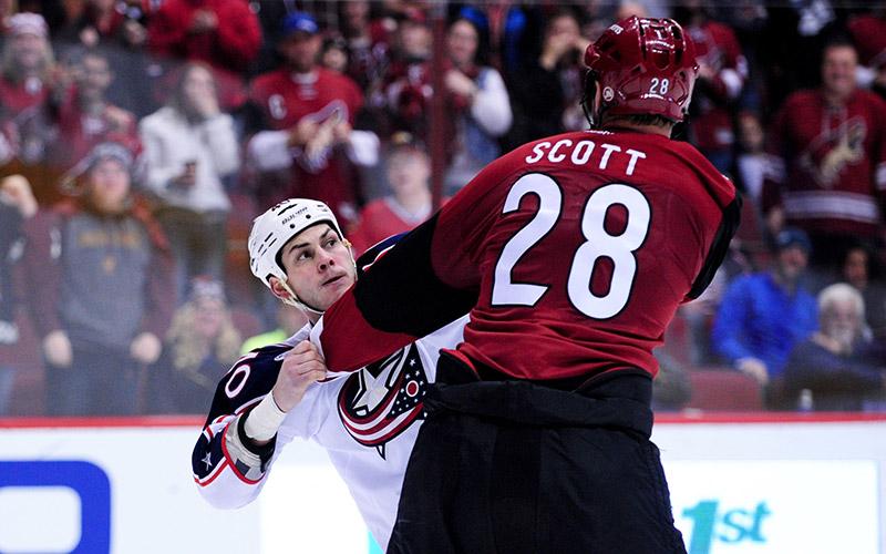 Reactions to John Scott, All-Star